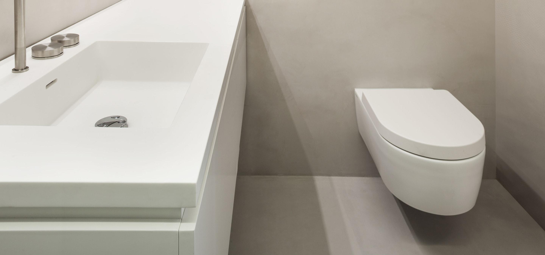 Faroni - Gietvloer in uw badkamer